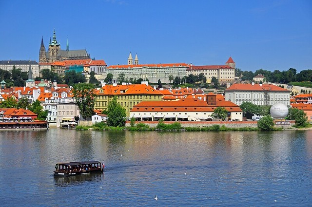 View of Prague's Mala Strana