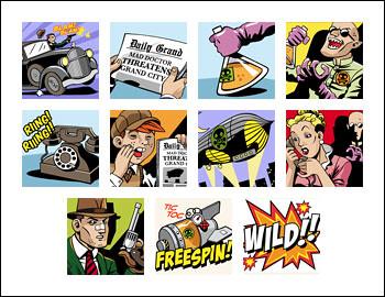free Jack Hammer slot game symbols