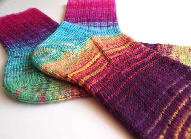 FCK dyed, sock blank socks # 1