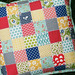 Seaside Patchwork Pillow