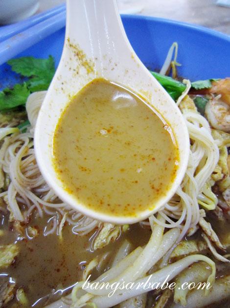 Sarawak Laksa Soup
