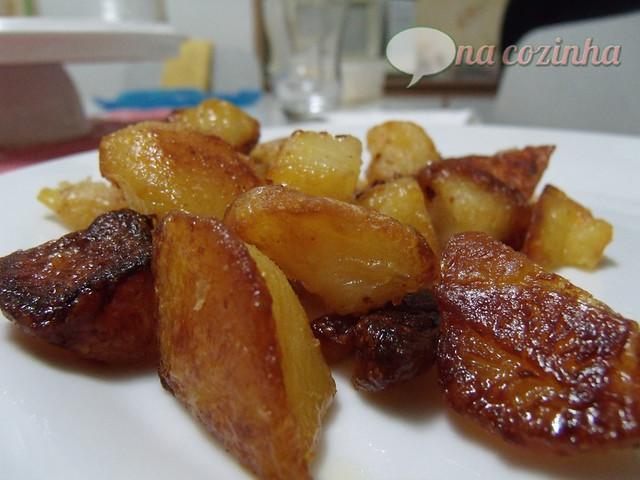 Batatas fritas no forno