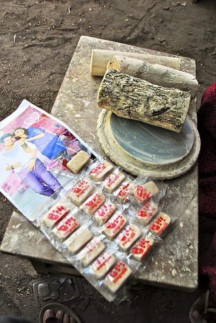 塔那卡粉餅和黃香木