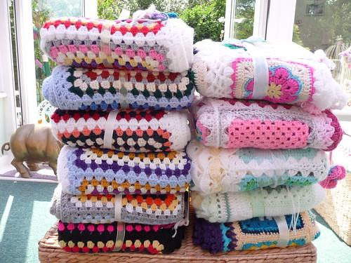 Blankets ready for Christopher Taylor Court, and Rowheath House today.