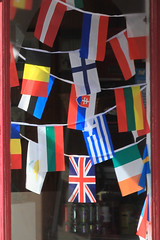 Flags, Flowers & Bunting