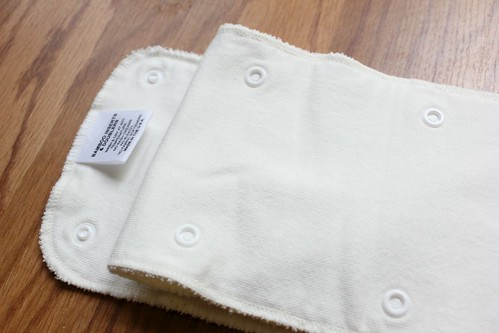 Organic Cotton and Bamboo insert