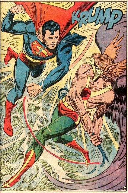 Superman vs. Hawkman