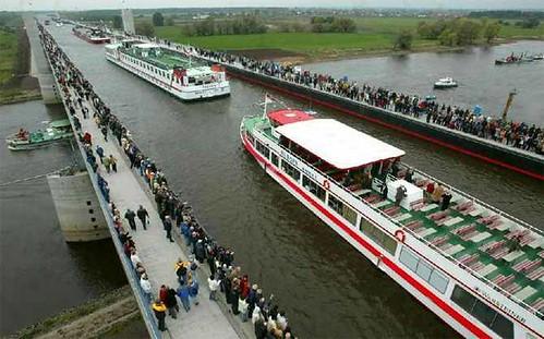 Magdeburg Water Bridge (Magdeburg, Germany bridges (16)