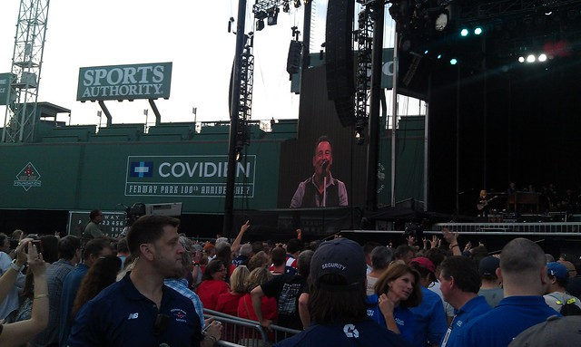 Bruce at Fenway