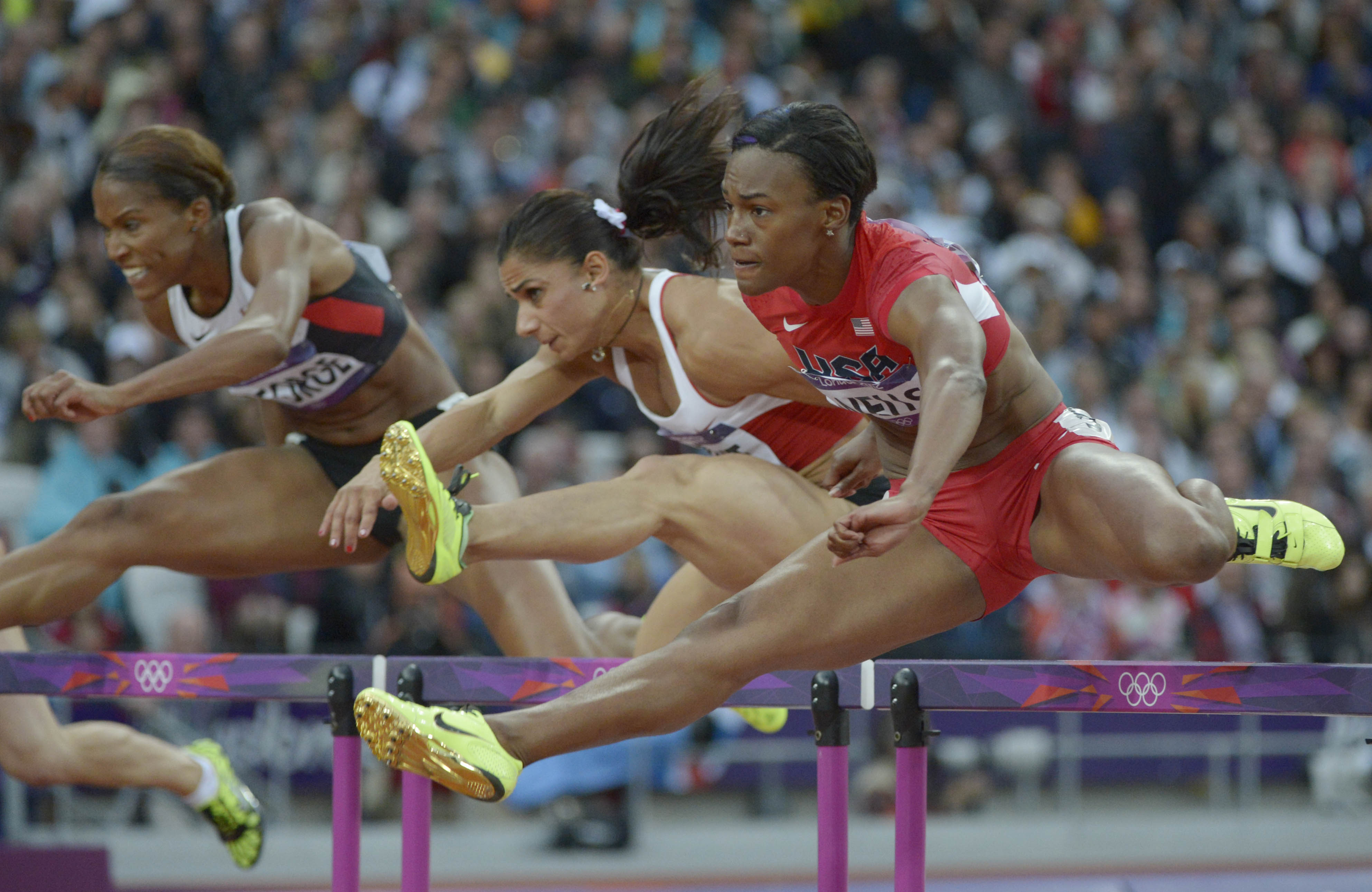 Olympics: Track and Field-Women's 100m Hurdles-Semifinals ...
