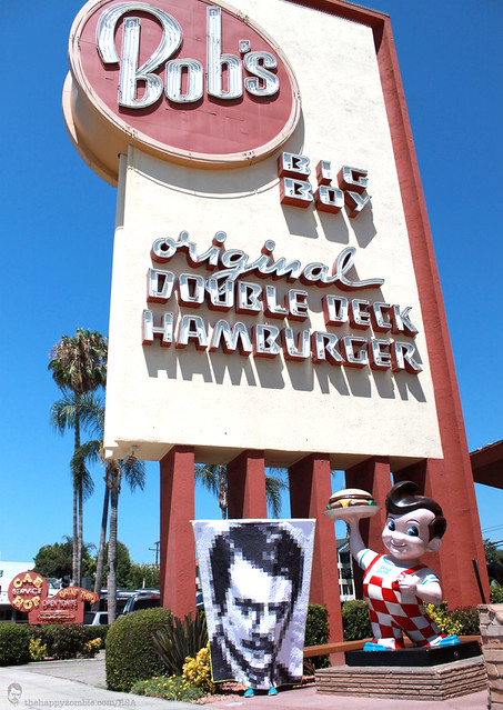 Ron Swanson quilt along - Bob's Big Boy in Burbank