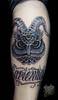 Horned owl by Franco