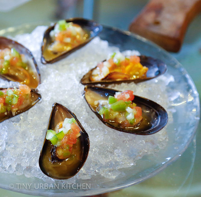 Jaleo mussels
