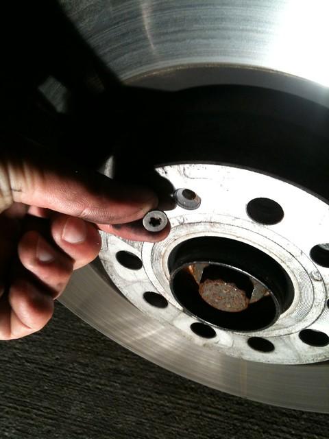 VWVortex com - Brembo 18Z 6 piston brake upgrade  DIY 'BBK
