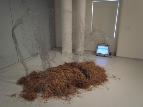 "Jasper Zoova: installation and video ""Parallell EU"""