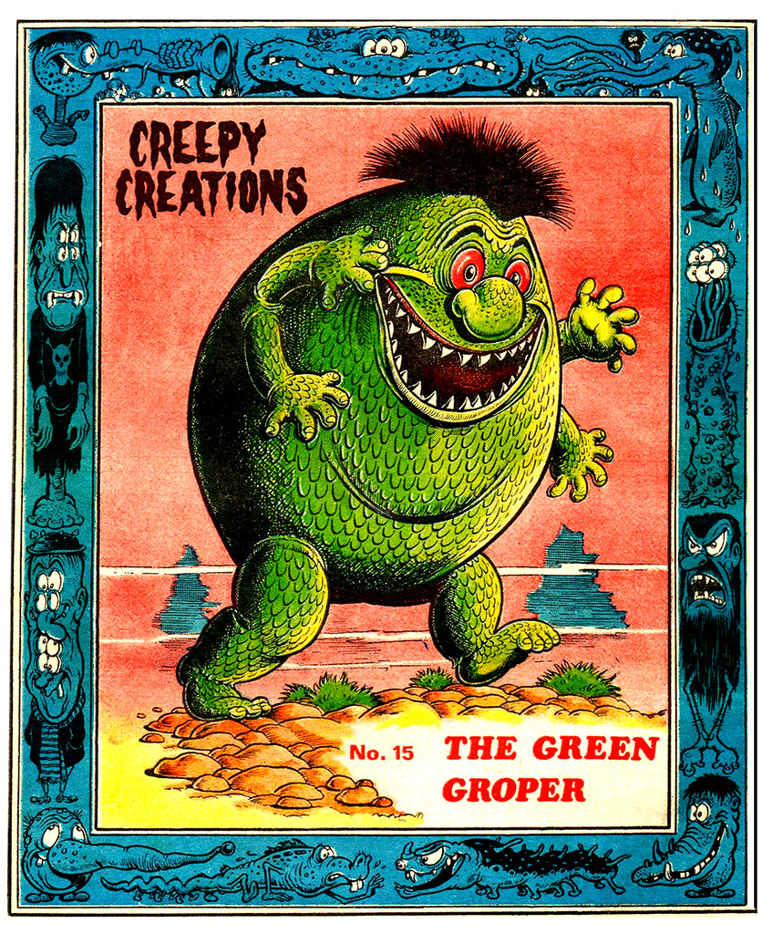 Creepy Creations No.15 - The Green Groper
