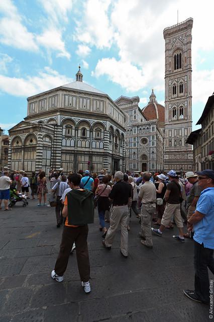 Флоренция - Баптистерий или просто крестильня