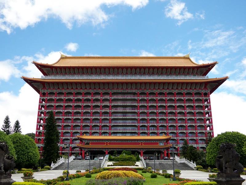 2012 台湾旅行 圓山大飯店 The Grand Hotel