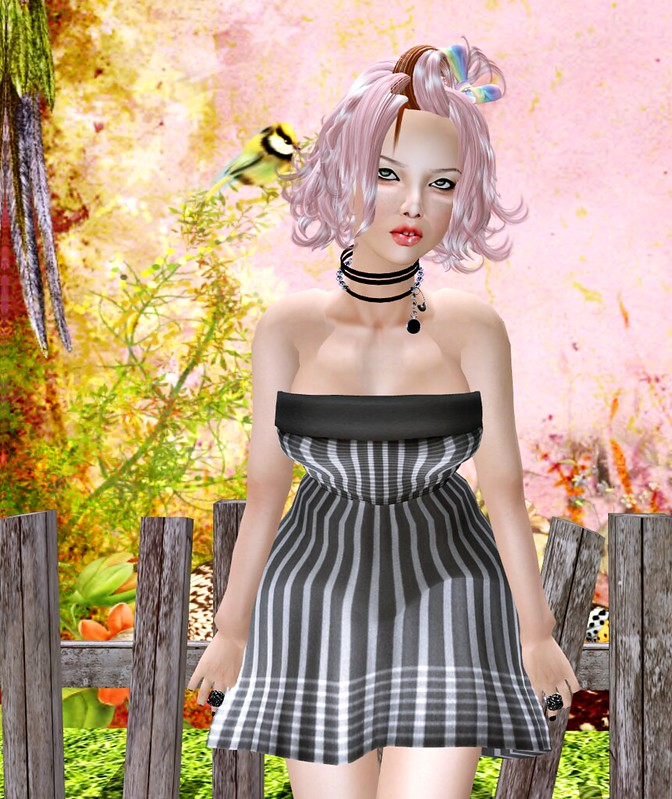 dress B@R  BR Stripes 1