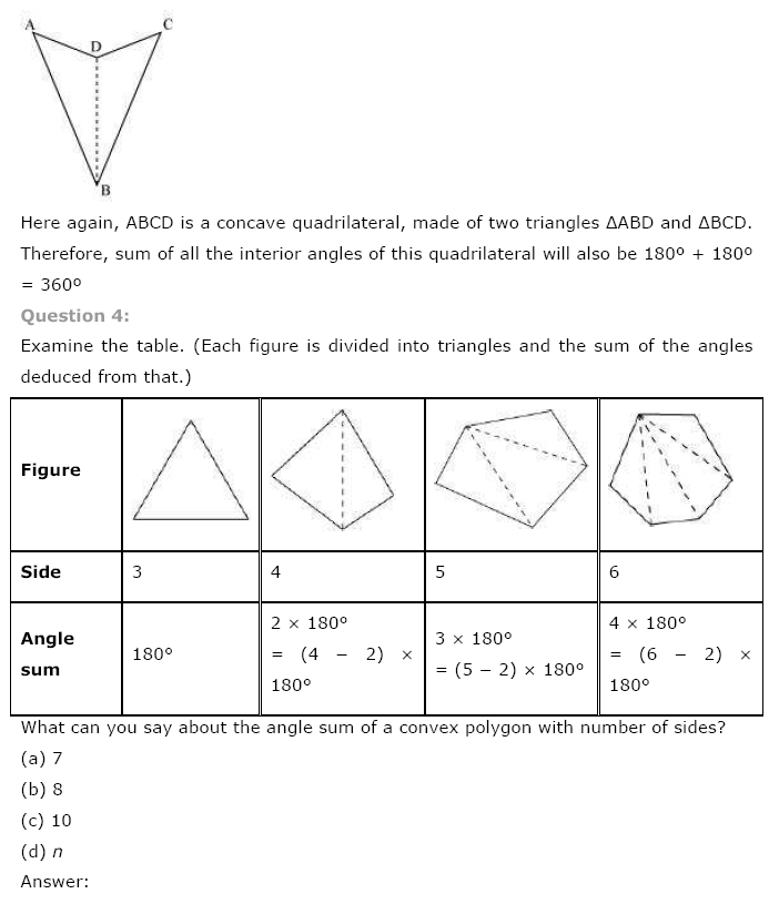NCERT Solutions For Class 8 Maths Ch 3 Understanding