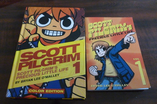 Scott Pilgrim Cover Comparisons