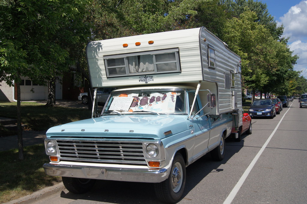 67 Ford F-250 Camper Special