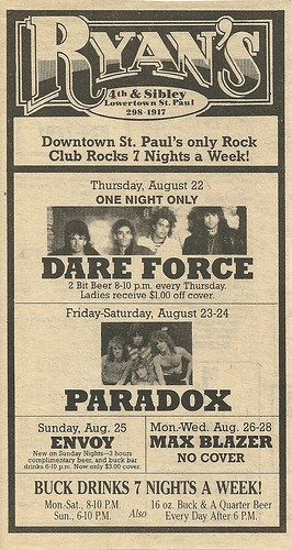 08/22 - 28/85 Ryan's, St. Paul, MN