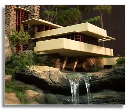 Casa de la cascada una de las casas m s famosas del for Casas modernas famosas