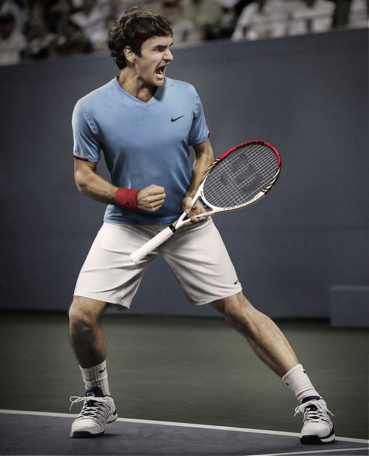 Roger Federer US Open outfit