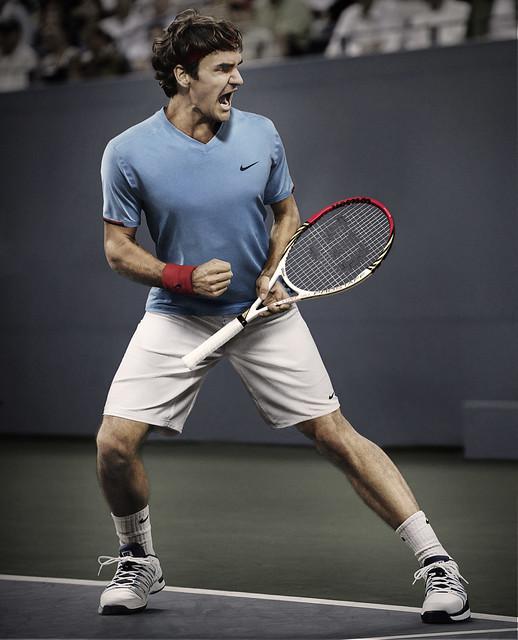 Roger Federer: Roger Federer US Open Outfit - Day