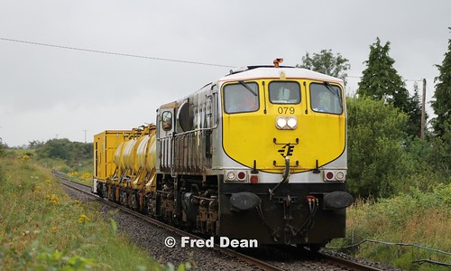 Irish Rail 079 at Keelogues.
