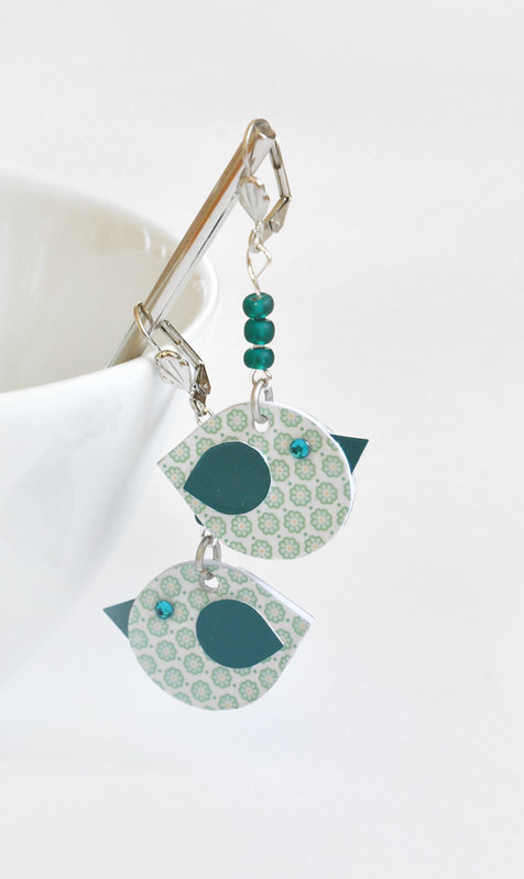 Paper Bird Earrings by S.CHICK