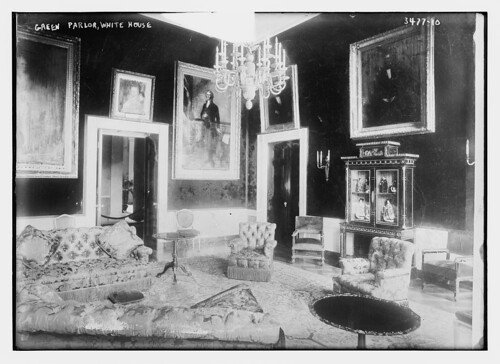 Green Parlor -- Wh. House (LOC)