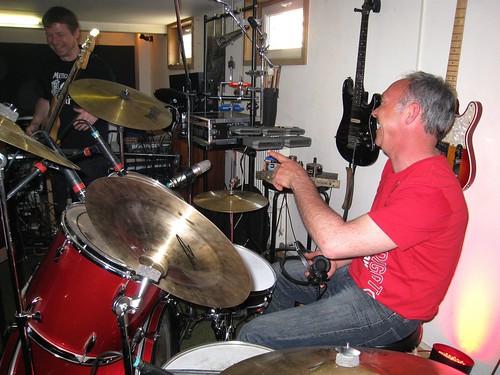 Sessions d'enregistrements en studio 2011 et 2012