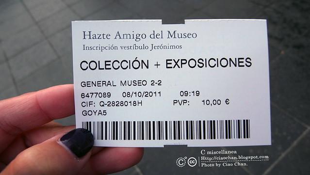 Hola Madrid~ 馬德里。黑白的不可思議。Prado普拉多美術館   R1043796