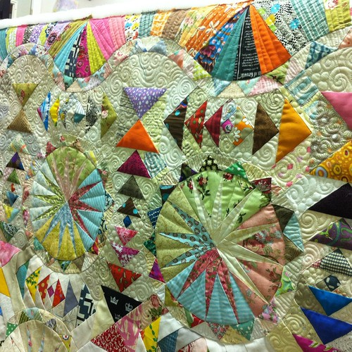 Insanely amazing quilt WIP