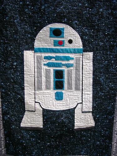 Artoo - Re-created in applique