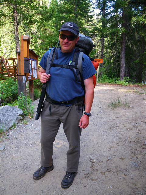 Me, first time on a backpacking trip in 30 years...