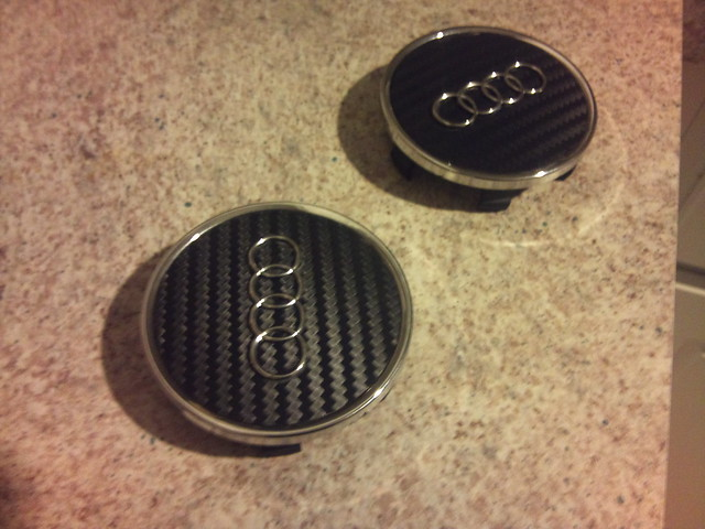 TSW Wheels Center Cap Solution - Audi wheel center caps