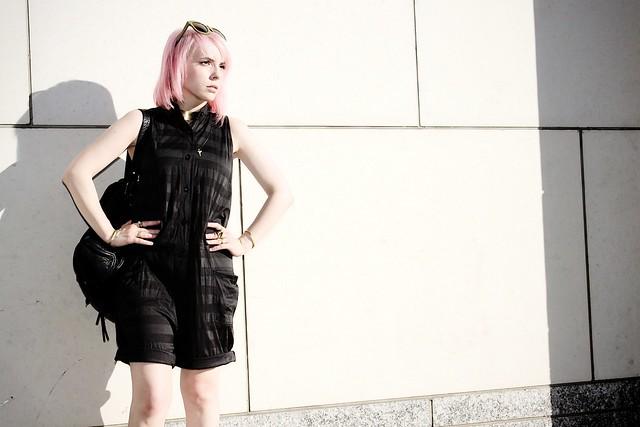 jailhouse chic pink hair davines
