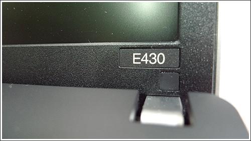ThinkPad Edge 430のパッケージチェック
