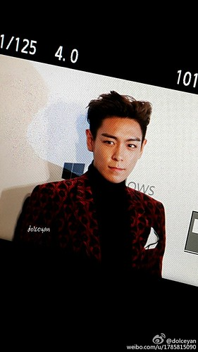 TOP - amfAR Charity Event - Red Carpet - 14mar2015 - dolceyan - 02