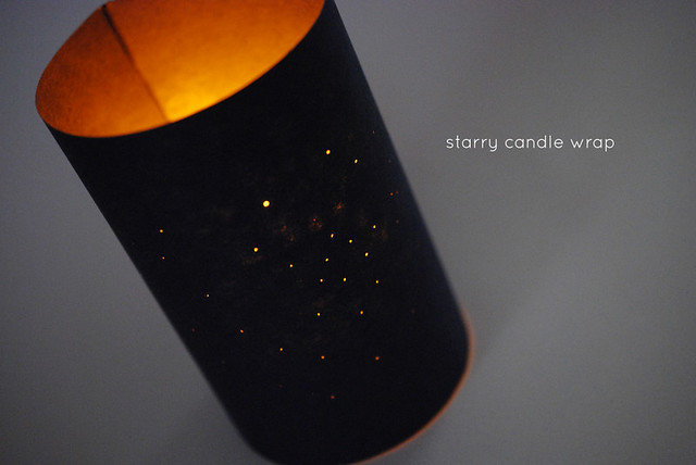 Starry Candle Wrap