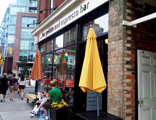G for Gelato, Toronto