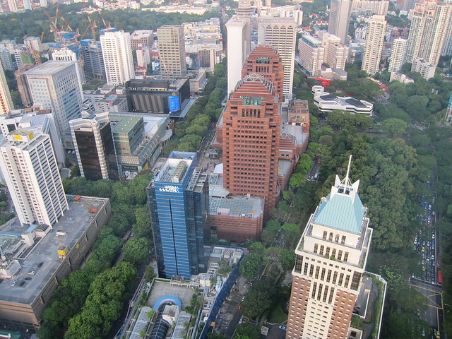 Nice View Of Orchard Road From Ion Sky