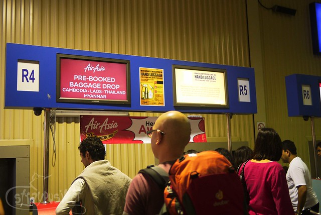 Air Asia pre-booked baggage drop