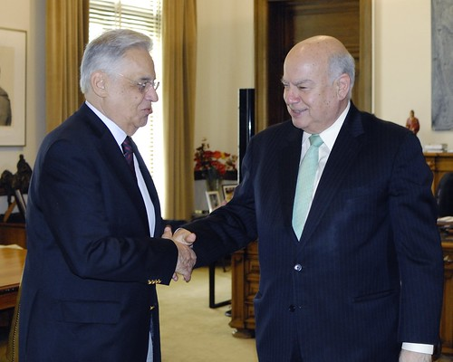 OAS Secretary General Meets with Former Brazilian President Fernando Henrique Cardoso