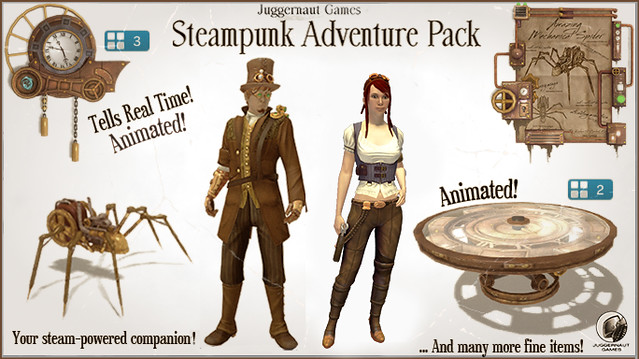 PS Home - Steampunk