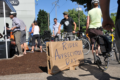 Rider Appreciation Day (RAD) on Williams Ave-5-1