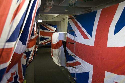 On board HMS Ocean